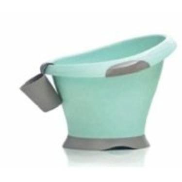Mebby Cocoon Baby Bath | Blue/Grey