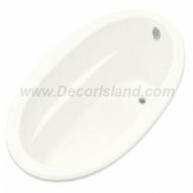 Kohler Sunward K-1165-0 White Sunward 6' Bath
