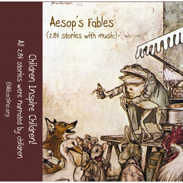 284 Aesop's Fables (MP3 on CD)