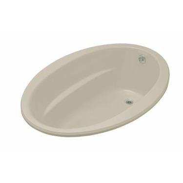 Kohler Sunward 5' Oval BubbleMassage Bath K-1162-G-G9