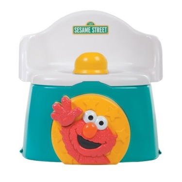 Sesame Street 1-2-3 Learn with Me Potty Chair