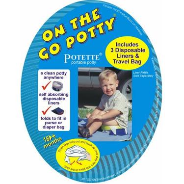 Kalencom On the Go Potty, Blue
