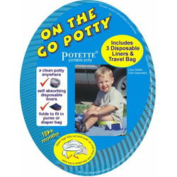 Kalencom On the Go Potty, Blue