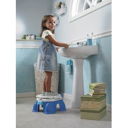 Fisher-Price Potty Step Stool, Royal Blue