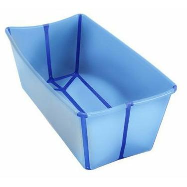 FlexiBath Infant Bath Tub by A Real Cool World - Blue