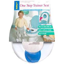 Safety 1st One-Step Trainer Seat in White