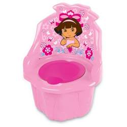 Nickelodian Dora The Explorer 3 in 1 Potty Trainer, Pink