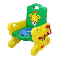 Dream On Me Musical Giraffe Potty Trainer, Yell/Green