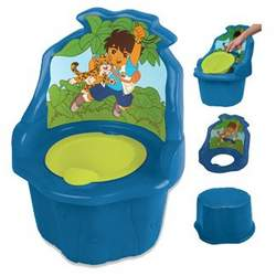 Diego 3 in 1 Potty Chair