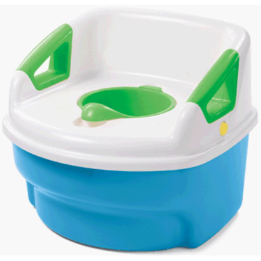 The First Years Toilet Training 3- in-1 System, Blue/White