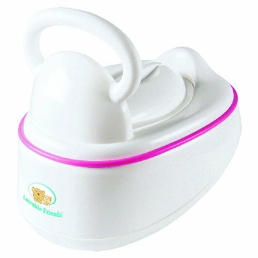 Luvable Friends Grow with Me Potty, Pink