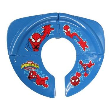 Spiderman Folding Potty Seat, Red Blue