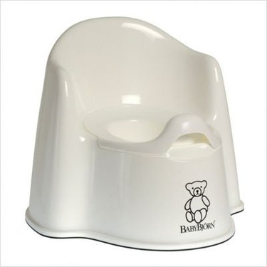 Potty Chair in White
