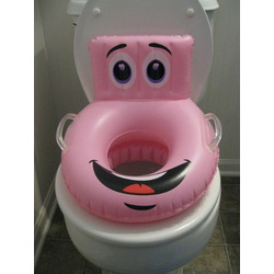 Pink w/Character Inflatable Potty Seat