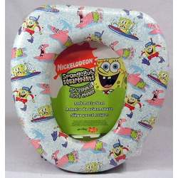 Spongebob Squarepants Soft Potty Seat