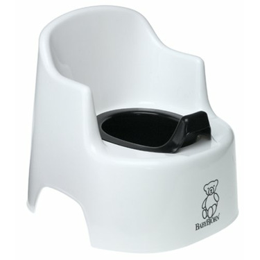 Baby Bjorn® Large Potty Chair White