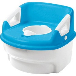 The First Years Toilet Training 3- in-1 System, Blue/White/Green/Yellow