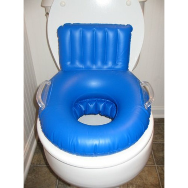Inflatable Potty Seat (Blue)