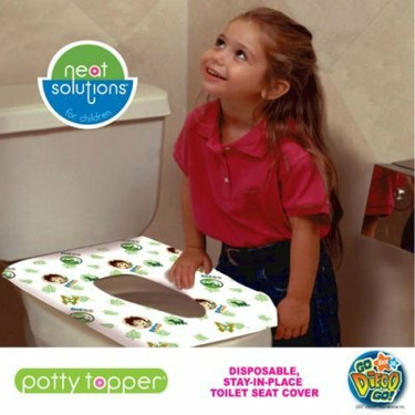 Go Diego Go Disposable Potty Toppers - 80 Count