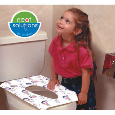 Neat Solutions 10-count Dora the Explorer Potty Topper Disposable Stick-in-Place Toilet Seat Covers