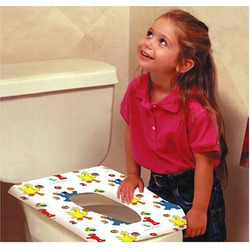 Sesame Street Potty Topper Disposable Stick-in-Place Toilet Seat Covers - 10 Count