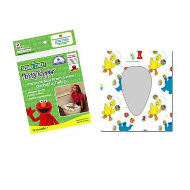 Sesame Street Disposable Toilet Seat Covers - Pkg of 10