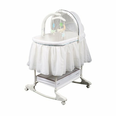 Delta Fisher-Price My Little Lamb Rocking Bassinet