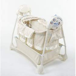 The First Years Sway N Soothe Auto Rocking Bassinet