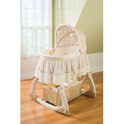 Nature's Purest Soothing Comfort Bassinet, Hug Me