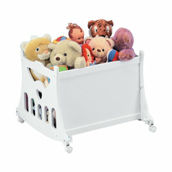 Badger Basket Company Portable Bassinet 'N Cradle with Toybox Base - Sage Waffle Pleated