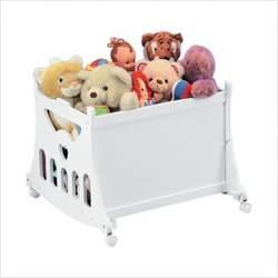 Badger Basket 2-in-1 Portable Bassinet with Toy Box Base - Sage