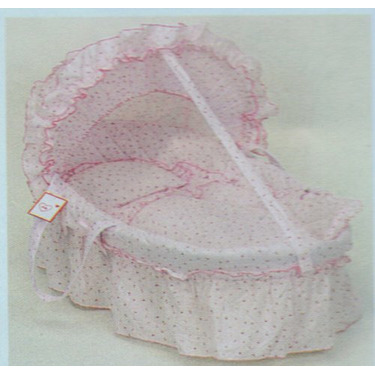 Pink Baby Bassinet