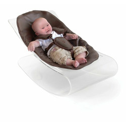 Baby lounger trans/ mid black