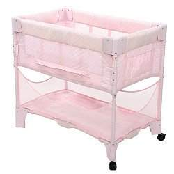 ARM'S REACH CONCEPTS Mini Blush Co-sleep Bassinet