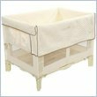 Arms Reach Concepts Original Co-Sleeper Bassinet in Natural w/ Short Liner