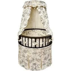 Badger Basket 00838 Special Edition Elegance Black Bassinet