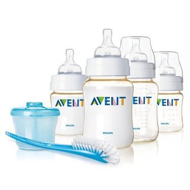 Philips AVENT BPA Free Infant Bottle Starter Set