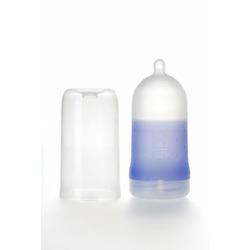 Adiri BPA Free Natural Nurser Ultimate Bottle Stage 2 Blue, Med Flow (3-6 months)