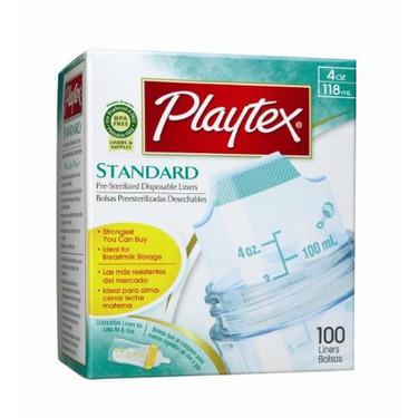 Playtex BPA Free Disposable Nurser Liners 4 oz - 100 Count