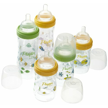 Playtex Drop-Ins Premium Decorated BPA Free Nurser Starter Set
