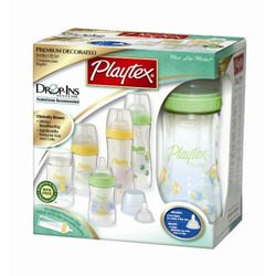Playtex Drop-Ins Premium Decorated BPA Free Nurser Starter Set