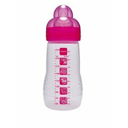 Mam Baby Bottle, Triple Pack, 2 Months, 9 Ounce, Colors May Vary