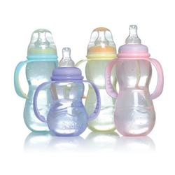 Nuby 3 Stage Bottle, Colors May Vary, 7 Ounce