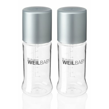 Weil Baby Tritan Bottle, Twin Pack, Stage 1, 9 Ounce