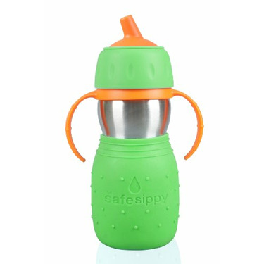 The Safe Sippy by Kid Basix - Green