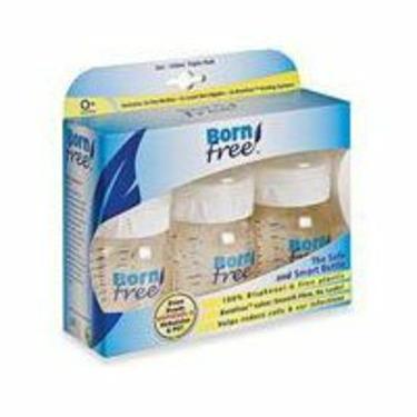 BornFree Plastic Bottles - 5oz 3pk