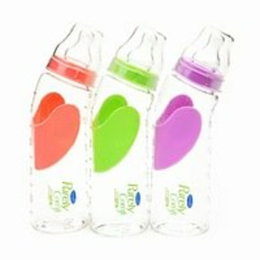 Evenflo BPA Free Purely Comfi 9 oz Bottle, 3-Pack