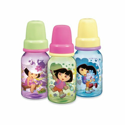 Munchkin BPA Free Dora the Explorer Classic Bottles 3-Pack, 4 oz