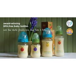 Green to Grow Welcome Home Set - Wide Neck Baby Bottles & Nipples