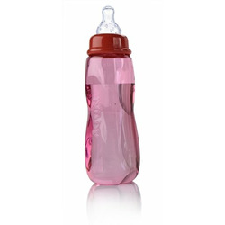 Nuby Tinted Bottle, Colors May Vary, 3 Pack, 8 Ounce